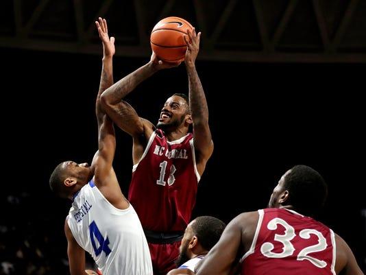 NCAA Basketball: MEAC Tournament Final-North Carolina Central vs Hampton