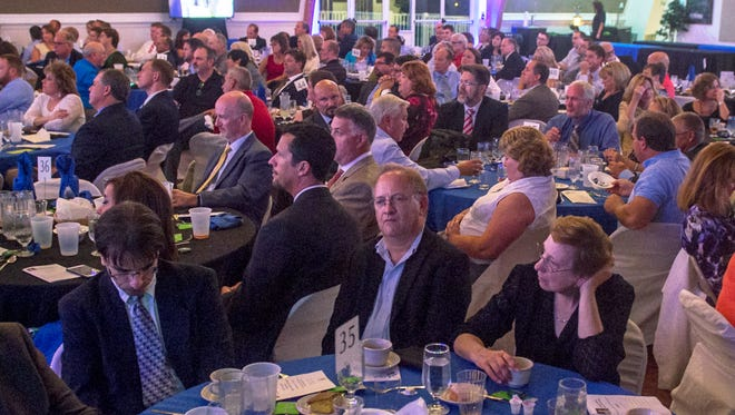 Local business owners gathered at Green Grove Gardens for 30th annual Franklin County Industry Appreciation dinner on Thursday, Sept. 9, 2016.