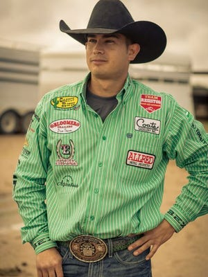 Cesar De La Cruz, 31, is now ranked among the world's top 30 ropers.