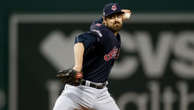 Andrew Miller has not allowed an earned run this postseason.