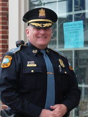 Milton's new police chief, Robert Longo, was sworn in on April 4 along with the new mayor.