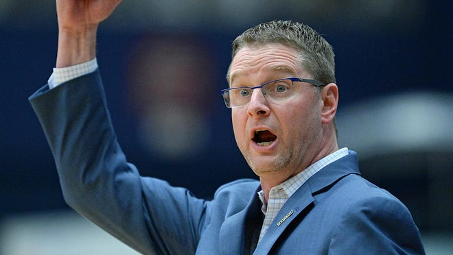 Coach Todd Starkey led the Kent State women's basketball team to 20 wins in 2018-19, his third season in charge of the Golden Flashes.