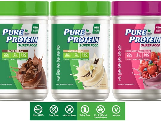 Health & Wellness: Pure Protein Super Food - The Nature's