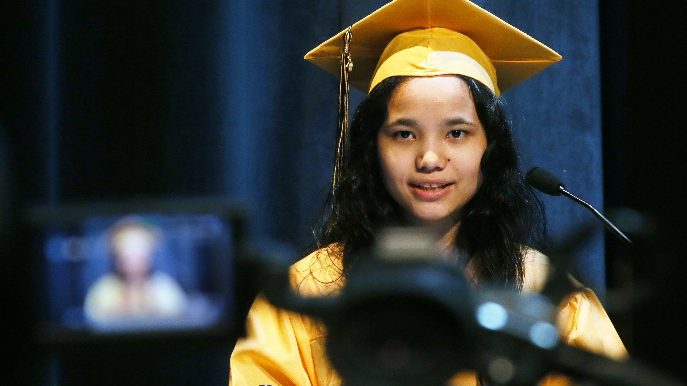 Many teachers and students are long to reconnect in classrooms. Alisha Tamang, North High School Class of 2020 valedictorian, urged her classmates to learn and grow as they experience life, even as the final months of their senior year was upended by the pandemic.