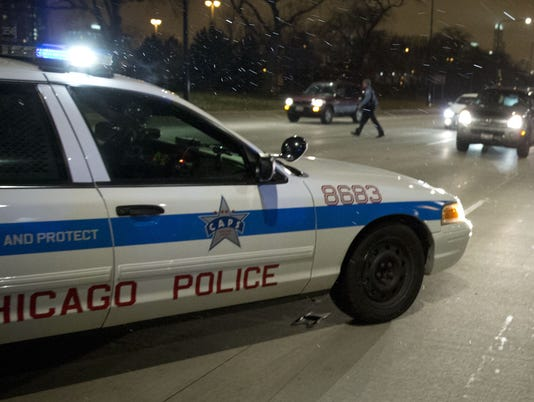 Chicago cop car