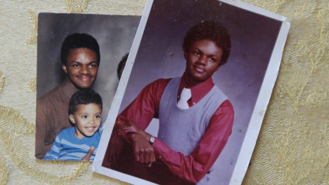 Andrew Pitts is seen in the most recent photos that his mom has of him. He was shot and killed Sept. 17, 1987.