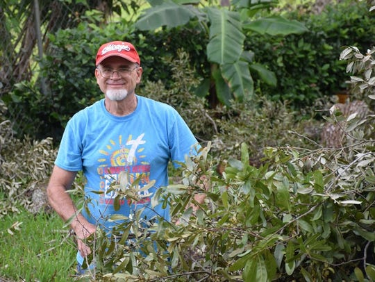 Ted Robart, co-founder of Women's Refuge of Vero Beach,