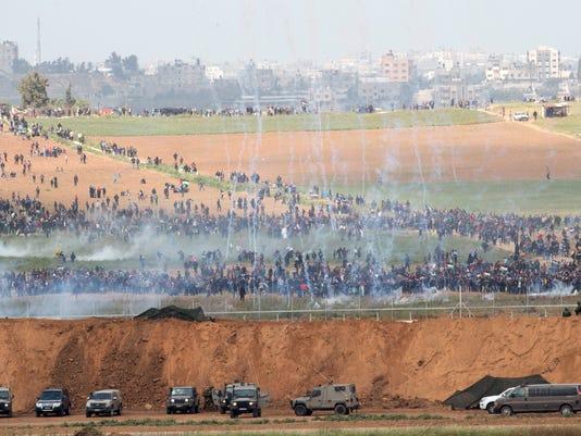 Palestinian Israel Gaza