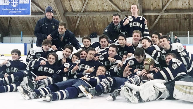 Rye Country Day went back-to-back as Fairchester Athletic Association champion, posting a 7-4 win over Harvey on Saturday at Evarts Rink.