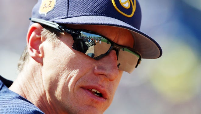 Craig Counsell is entering his third season as manager of the Milwaukee Brewers.