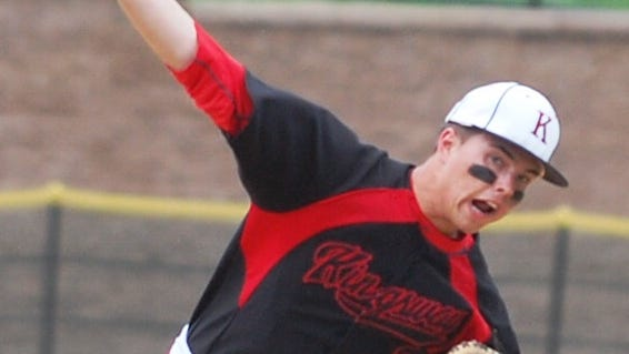 Kingsway junior Anthony Dilks struck out 12 and scattered four hits in a 3-2 win over Clearview.