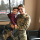 Military mom reunites with toddler in emotional airport homecoming