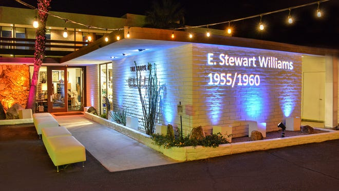 A special Preservation Party for E. Stewart Williams was held at The Shops at 1345. All proceeds will be used to designate several of E. Stewart Williams' work to the National Register of Historic Places.