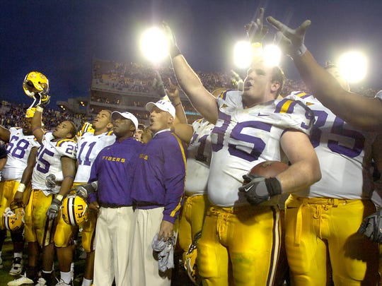 Kyle Williams played on a national championship team at LSU.