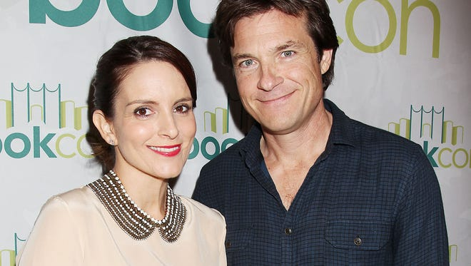 Tina Fey  and Jason Bateman promoted their new movie 'This Is Where I Leave You' to kick off Book Con on Friday.