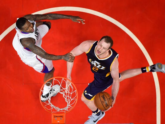 Joe Ingles, Luc Mbah a Moute