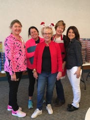 Christmas Basket Program 2016 Co-Chairs (L to R) Lauren