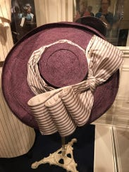 The large hat Kate Winslet wore in her first scene