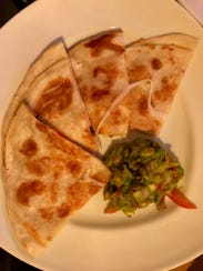 The lobster quesadilla is a solid starter at Katonah