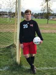 Wisconsin Rapids senior keeper Carson Crotteau has