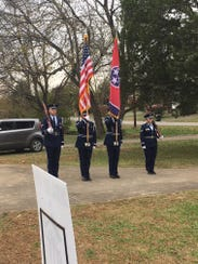 The 118th Tennessee Air National Guard Base Honor Guard