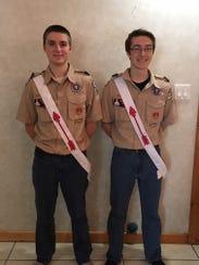 Zachary Arnold Patynski, 18, and Jared Joseph Ahl,