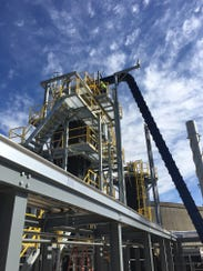 The City of Lebanon's gasification plant is located