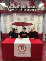 Bellevue's Brock Beier will continue his career at