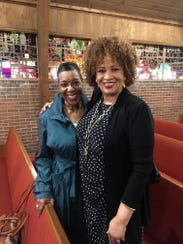 Doris Talley's ministry is through music, and the Rev.