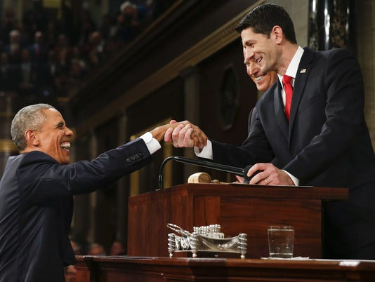 BLM OBAMA STATE OF THE UNION A POL USA DC