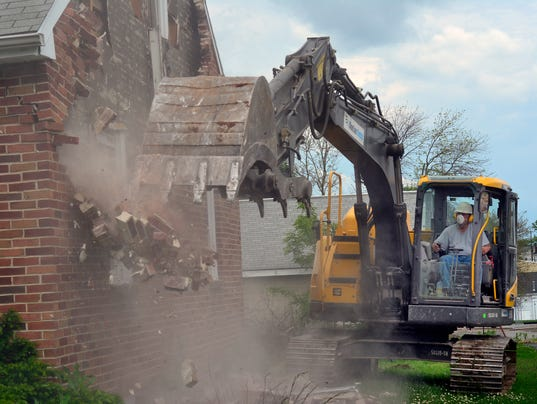 PHOTOS: Demolition begins for new Thornton Cheverolet