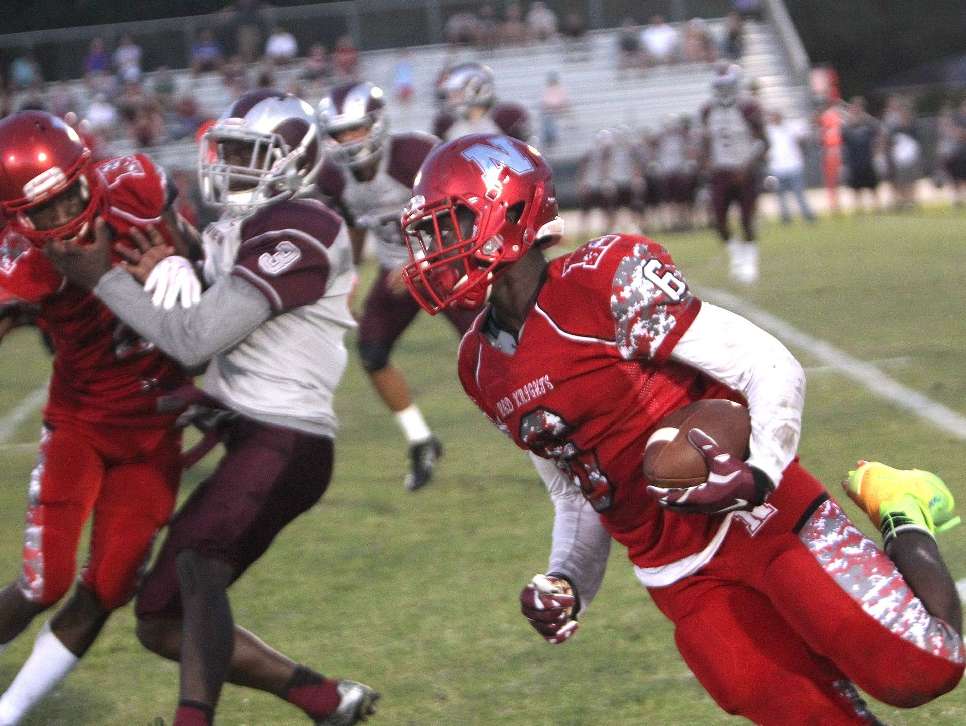 North Fort Myers High and Florida State commit Zaquandre While will look to lead the Red Knights to a playoff spot in 2016.
