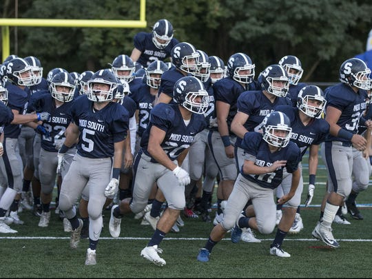 Manasquan vs Middletown South. Middletown South takes