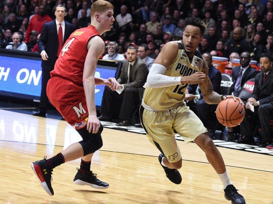 Vincent Edwards battled the flu and Maryland on Wednesday