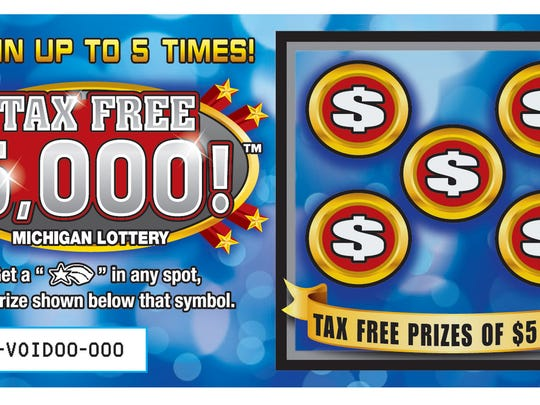 New tax free lottery ticket