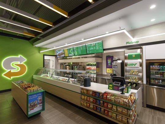 Subway Store Makeover