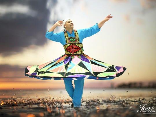 PIC 1 Tanoura Whirling Dervish - Yasser Darwish