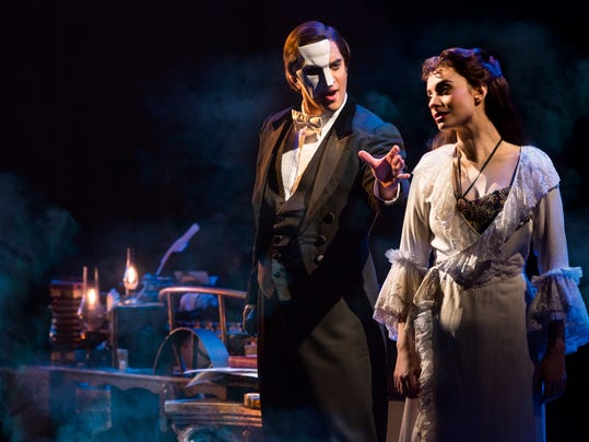 THE PHANTOM OF THE OPERA 1 - Cooper Grodin and Julia Udine - photo by Matthe.jpg