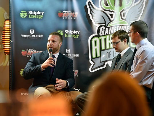 John Kuhn returned to York in June 9 as the keynote