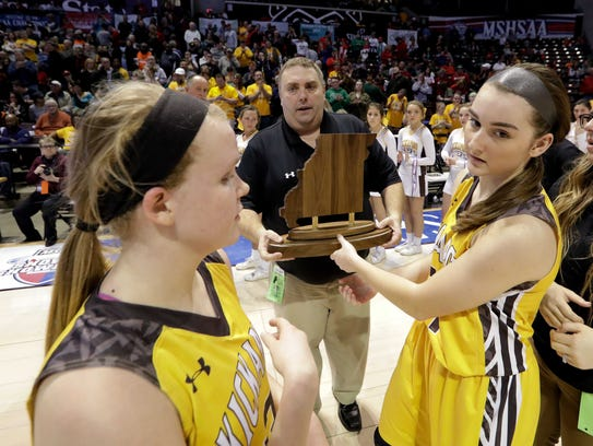 The Kickapoo Lady Chiefs lost to Kirkwood in the Class