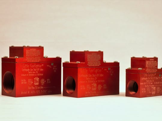 Gas shut off valves can protect you in the event of an earthquake.