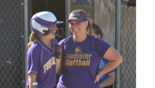 Lorrie Chaperon is the new softball coach at Fowlerville.