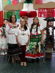Rosa Gutierrez, left to right, Marta Cordova, Teresa