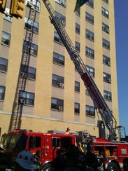 Bridgeton fire units respond here to a fair Wednesday