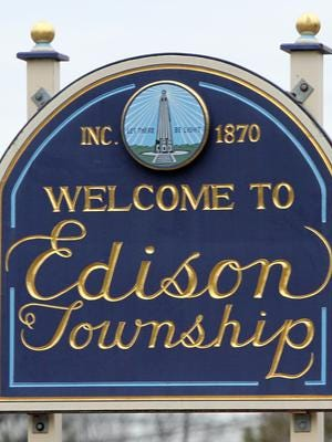 An Edison police officer has resigned following his arrest last weekend at a Belmar bar.