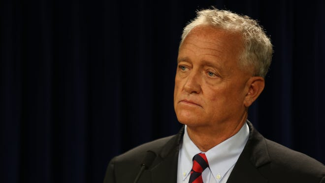 """He purposely killed him:"" Hamilton County Prosecutor Joe Deters about UC officer Ray Tensing in Sam DuBose's shooting death."