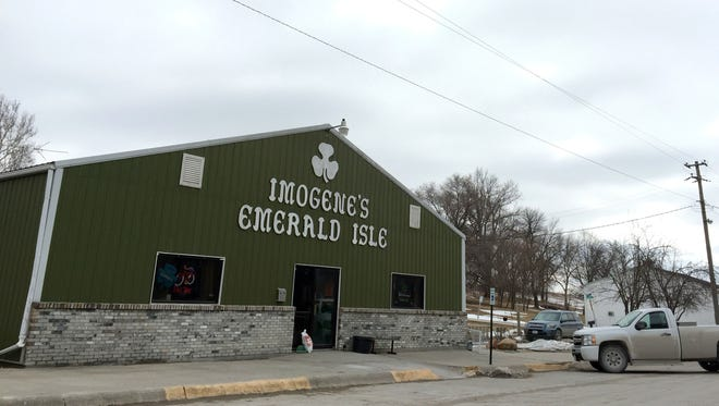 The Emerald Isle is a revered institution in the tiny Irish town of Imogene. The bar has been owned and operated for more than five years by Kevin Olson and Becca Castle, who grew up in the area.