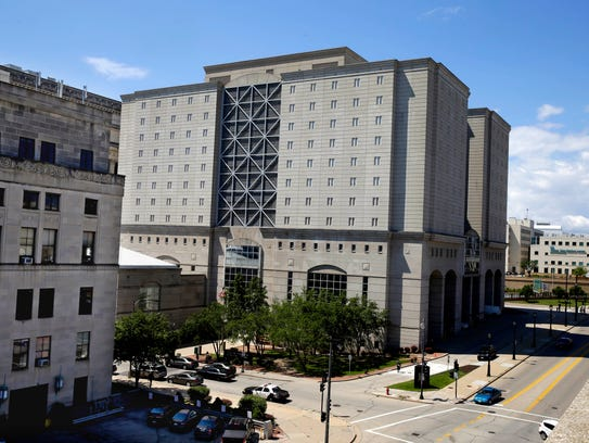 The Milwaukee County Jail is located inside the Criminal