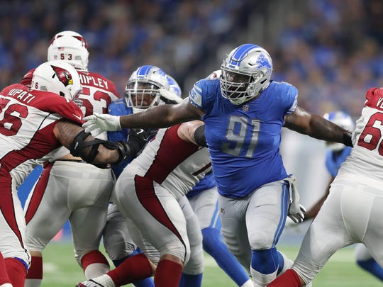 DT: A'Shawn Robinson. Age: 23. 2017 stats: 16 games,
