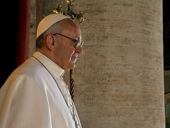 """""""Pope Francis - A Man of His Word"""" is playing at R/C"""